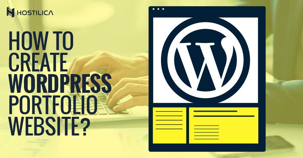 portfolio WordPress website