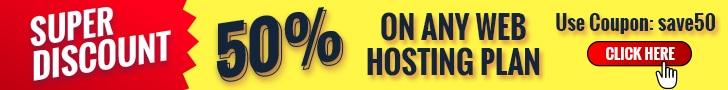 HOSTILICA Web Hosting Discount 50%